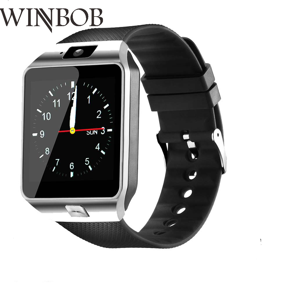 New Box WINBOB dz09 bluetooth Smart Watch With Camera Smartwatch Bluetooth SIM Card WristWatch for Apple IOS and Android Phone
