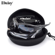 Daisy Military Goggles Bullet-proof Army Polarized Sunglasses Men Outdoor War Game Tactical Glasses Hunting Shooting Eyewear X7 saiyu c5 army goggles desert storm 4 lens outdoor sports hunting sunglasses anti uva uvb x7 polarized war game motorcycle glasse