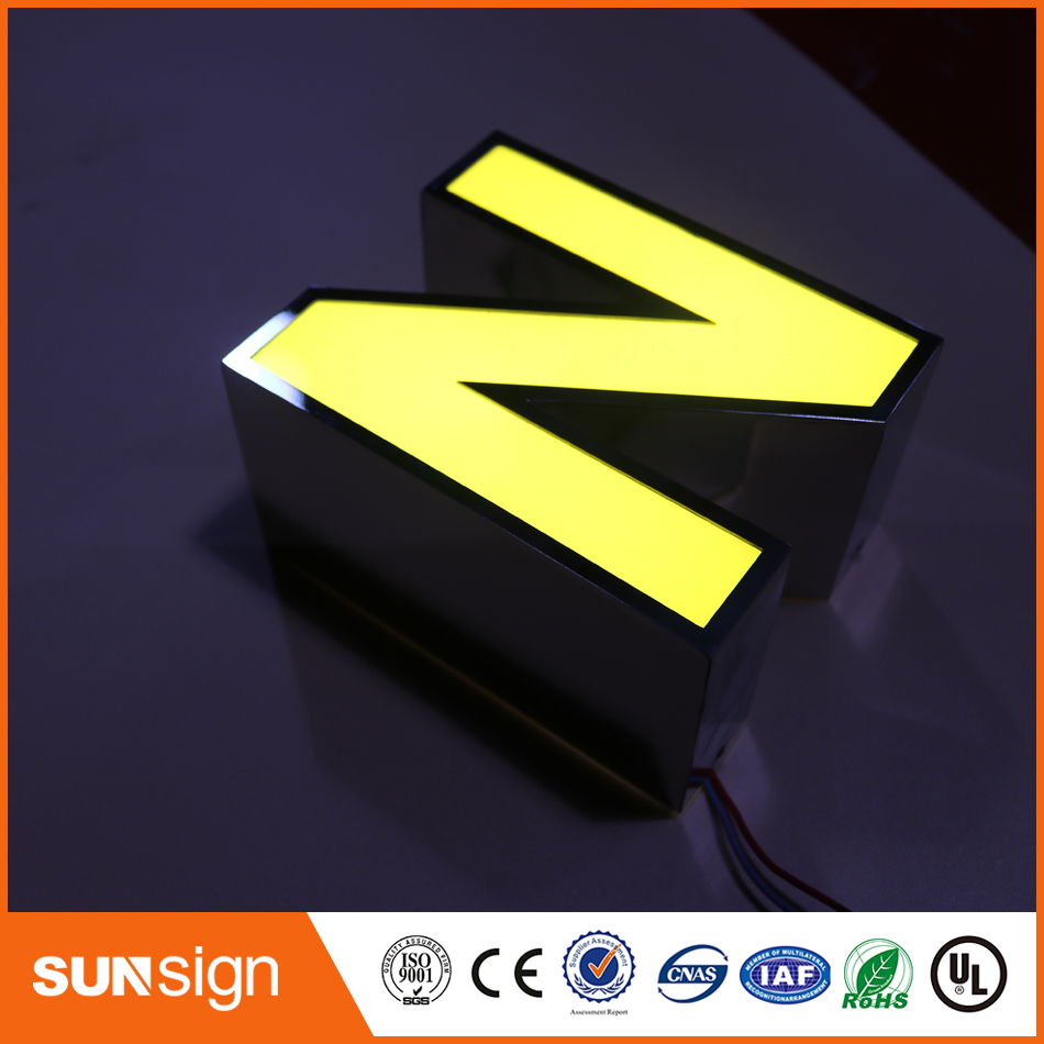 Custom Led Alphabet Letters Frontlit Channel Letters