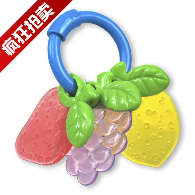 Fruit teethers gear device 9451 baby toy baby toy baby hand rattles 08