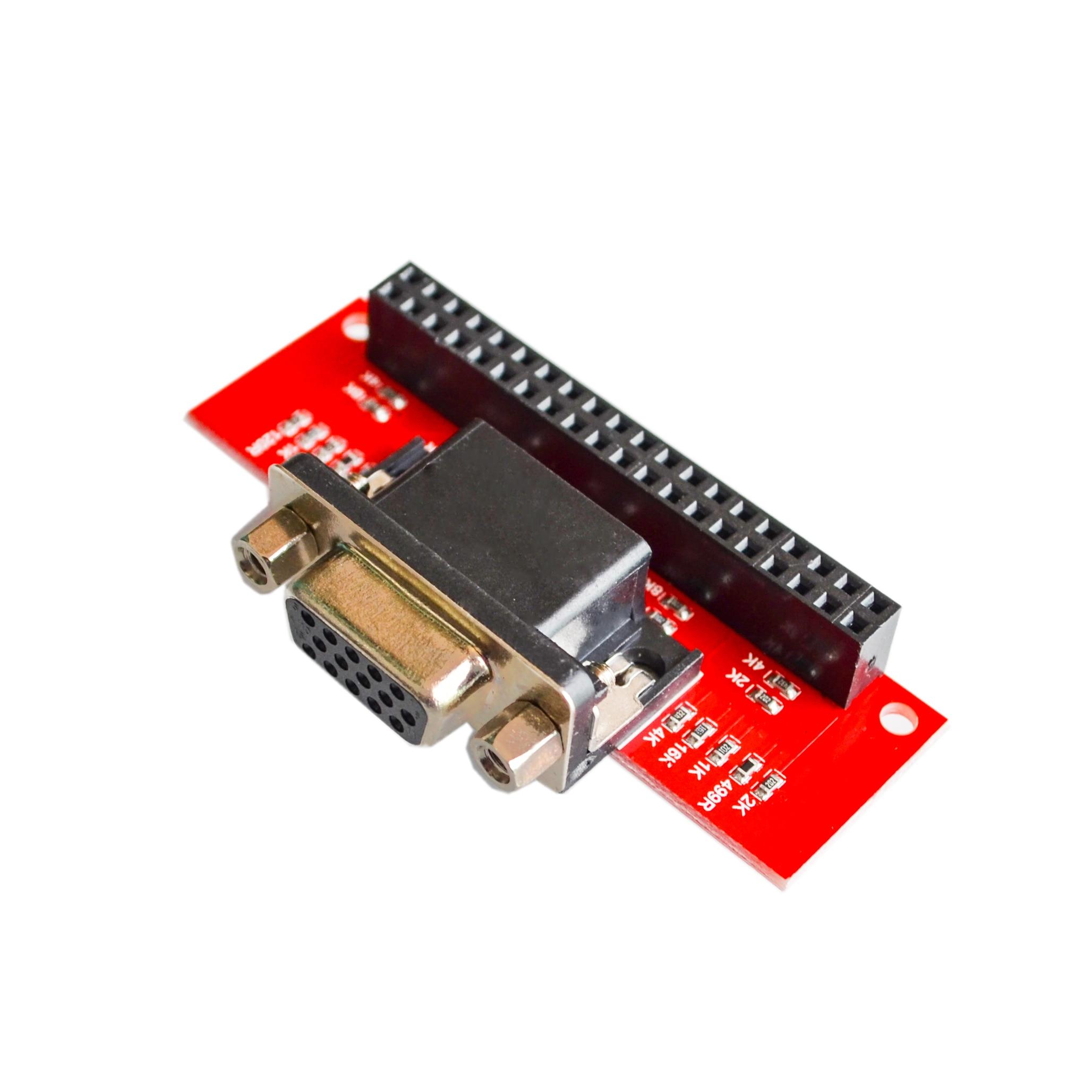 Placa adaptadora vga 666, para raspberry pi 3b 2b b + a +