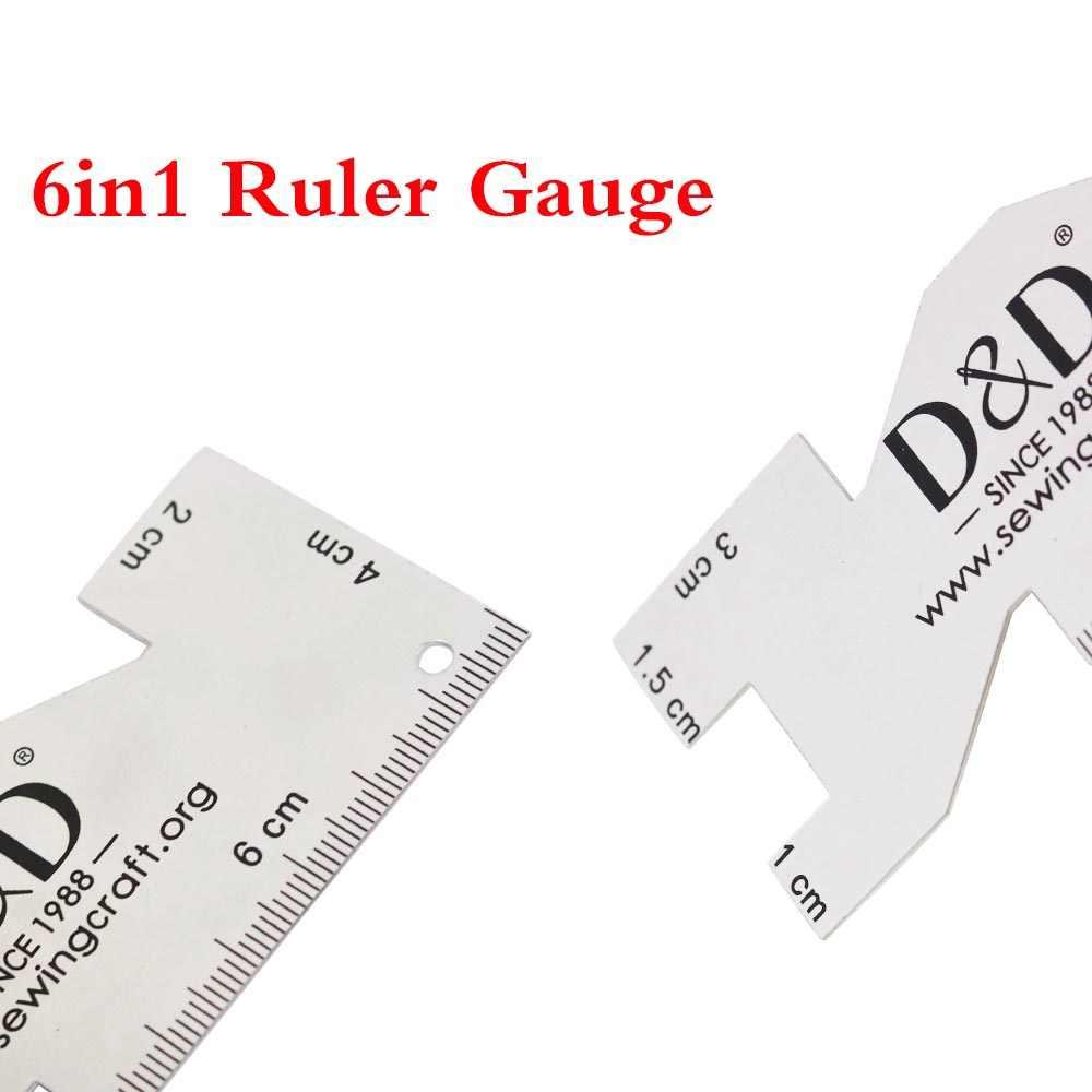 Nuevo 1 Pza de alta calidad regla de Metal de costura manómetro de medición reglas de acolchado tela artesanía herramientas de costura