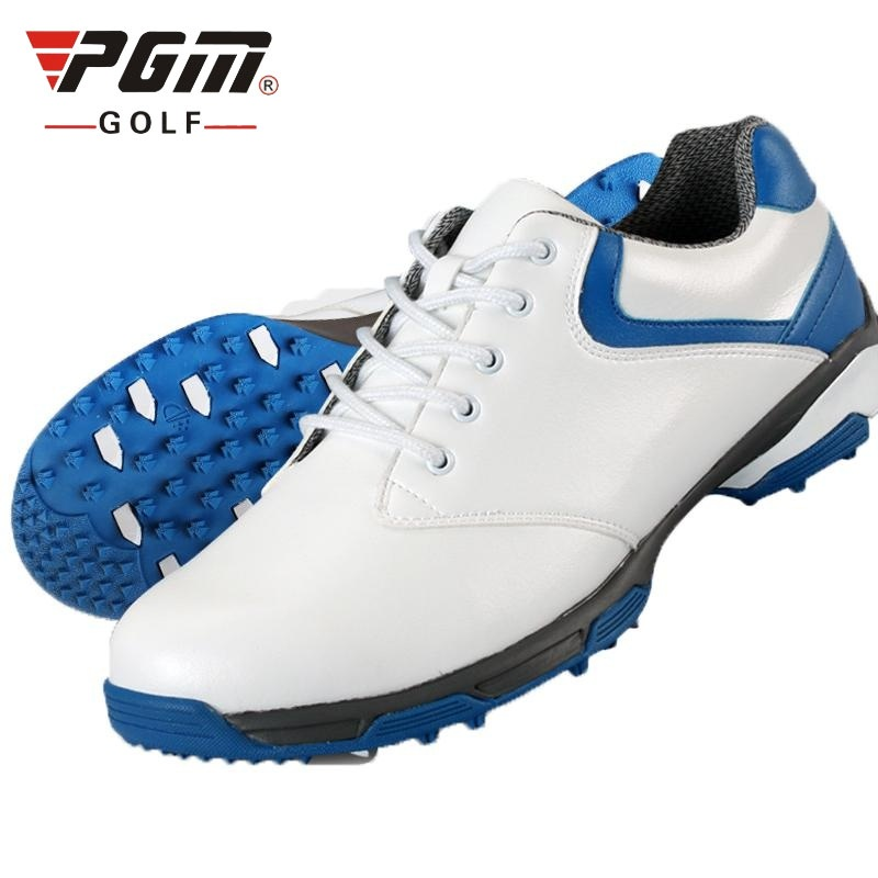 New Waterproof Breathable Patent Design Men Outdoor Sport Shoes Anti-Skid Light Good Grip Comfortable Leather Golf Shoes AA10092 цена