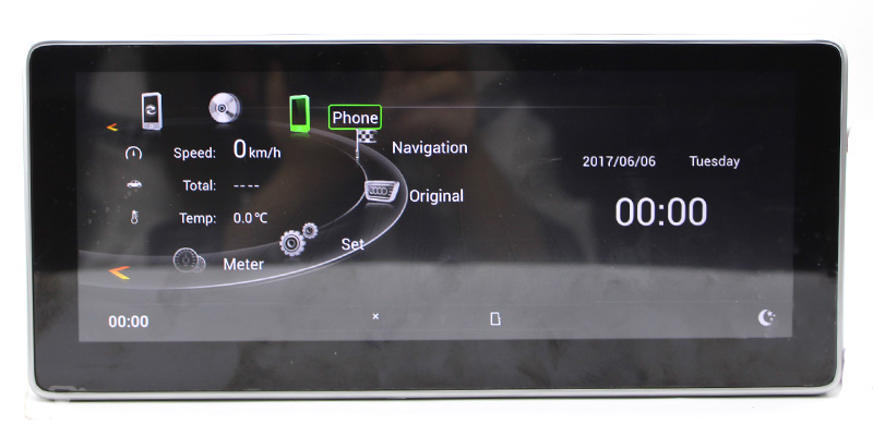Liislee Car Multimedia Player NAVI 10.25 inch For Audi A4 B8 8K 2009~2016 Original Car MMI Style Radio Stereo GPS Navigation (8)