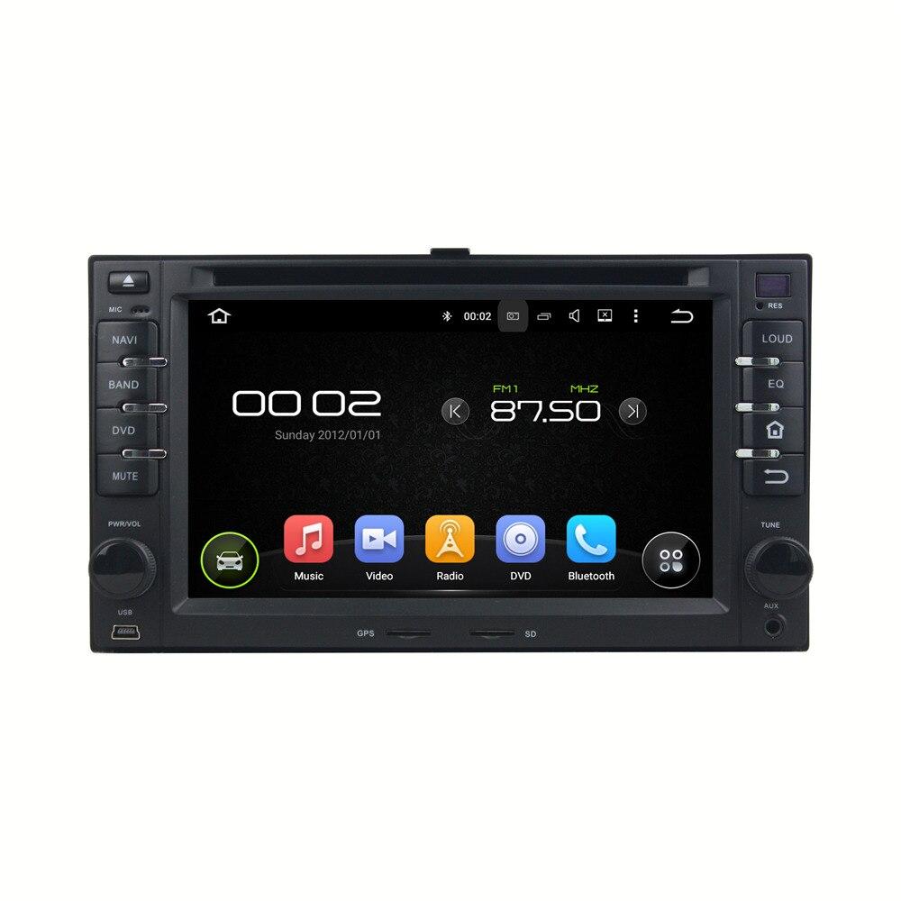 Android 5.1.1 Quad Core 16G GPS Navi CAR DVD Player For Cerato Sportage CEED Sorento Spectra Optima Rondo Rio Sedona Carens