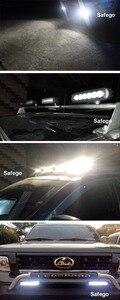 Image 5 - 2 cái Safego ánh sáng xe thanh 18 Wát làm việc ánh sáng 24 V Xe Máy Lái Xe Off road Tractor đèn xe tải đèn 12 V led công việc nhẹ