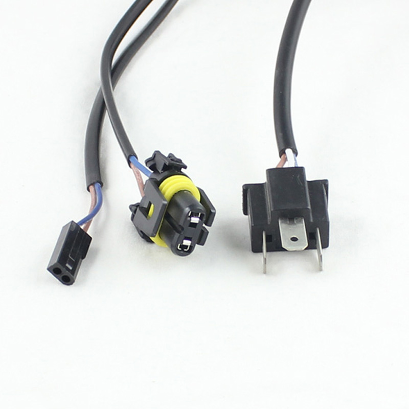 Good quality H4 wiring harness controller 9003 HB2 Hi lo Bi xenon cable wires for projector good quality h4 wiring harness controller 9003 hb2 hi lo bi xenon  at suagrazia.org