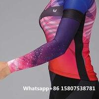 2019 liv mulher verão braço marmers lycra ultravioleta prova ropa ciclismo sportwear maillot ciclismo triathlon secagem rápida Kits ciclismo     -