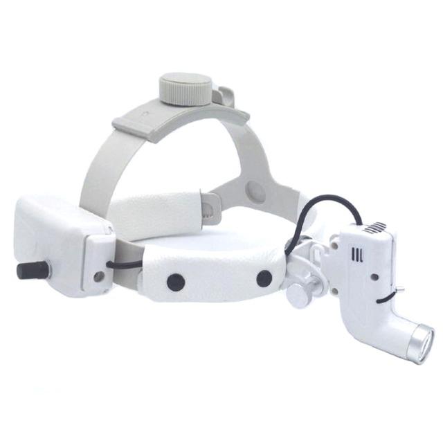 Faísca Ultra Bright Dental Cabeça Luzes LED para Bateria de Alta intensidade Lupas com 5 Horas de tempo de Execução Contínua 30000Lux