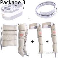 Пневматические ногу массажер разминание массажер для ног Электрический Воздушная волна Давление физиотерапия массаж облегчить боль
