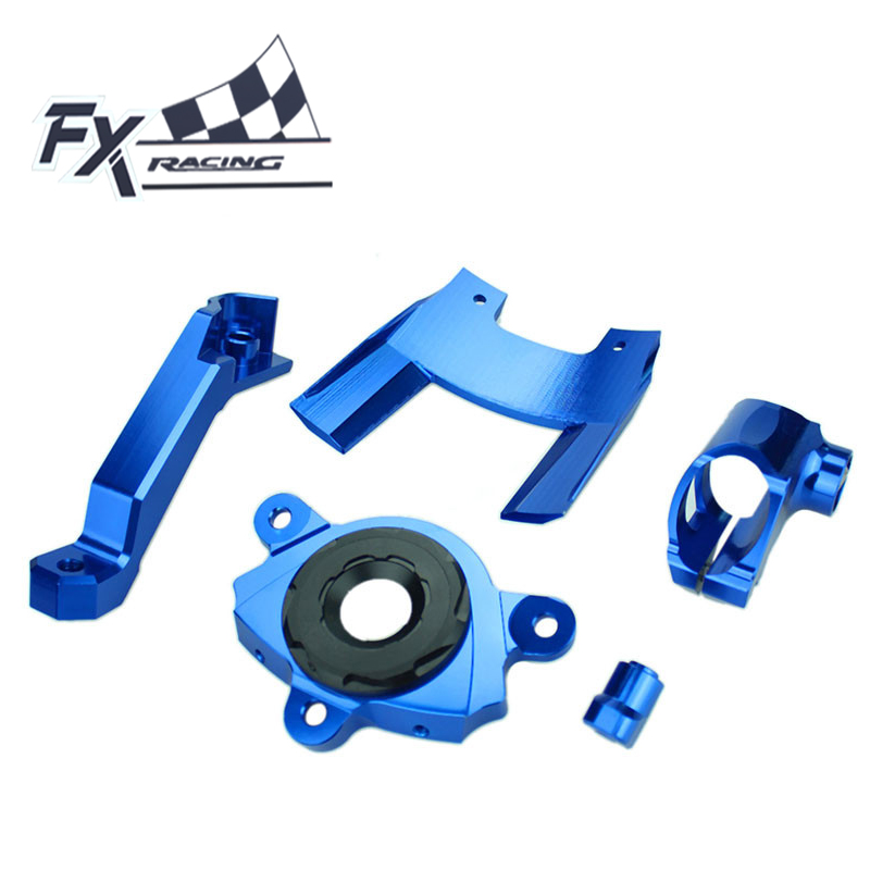 FXCNC Motorcycle Steering Stabilizer Damper Mounting Bracket For Kawasaki Z1000 2016 - 2017 Aluminum Adjustable Support Kit