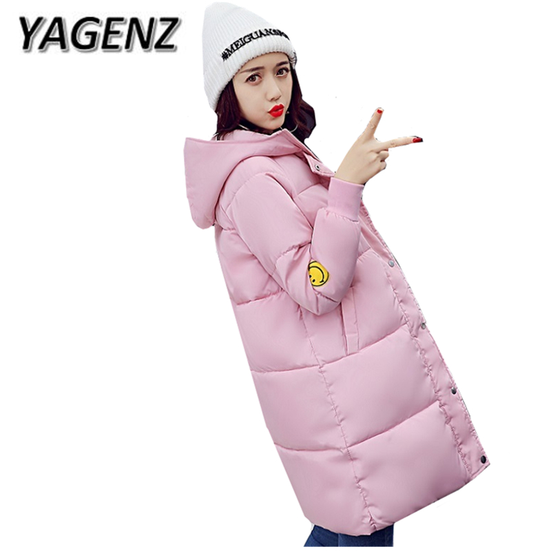 Women Down cotton Winter Hooded Jacket Coats 2018 Korean Big yards Thick Warm Parkas Lady Coat Student Jacket Boutique Clothing down cotton winter hooded jacket coat women clothing casual slim thick lady parkas cotton jacket large size warm jacket student