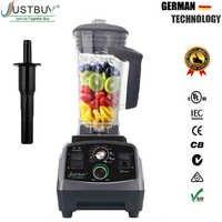 Mélangeur mélangeur de minuterie de qualité commerciale sans BPA mélangeur de fruits automatique robuste robot culinaire broyeur à glace Smoothies 2200W