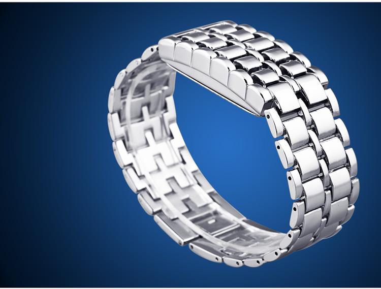 Aidis youth sports watches waterproof electronic second generation binary LED digital men's watch alloy wrist strap watch 30