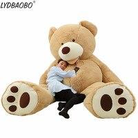 LYDBAOBO 1 unid 160 CMSuper grande América gigante oso de peluche juguetes de peluche oso de peluche suave Popular cumpleaños y Día de San Valentín de regalos para niños