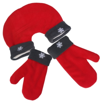 3pcs/set Christmas Couple  Mittens 1