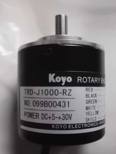 Freeship Koyo Compact generic incremental rotary encoder TRD-J1000-RZ, external diameter of 50mm, TRD-J series 1year warranty koyo trd j1000 rzw 1000p r photoelectric incremental rotary encoder 1000ppr trdj1000rzw