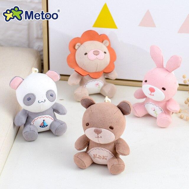 Мягкая плюшевая мини-кукла Metoo