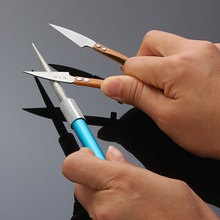Fashion Diamond Grit Sharpener Outdoor Hunting Fishing Pocket Knife Sharpeners Pen  Style Knifes Sharpening Stone