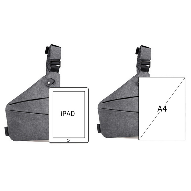Unisex Underarm Shoulder Bag 3