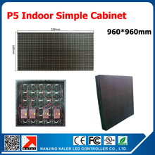 p5 led display screen indoor mounting on wall video wall 960*960mm display cabinet receiving card