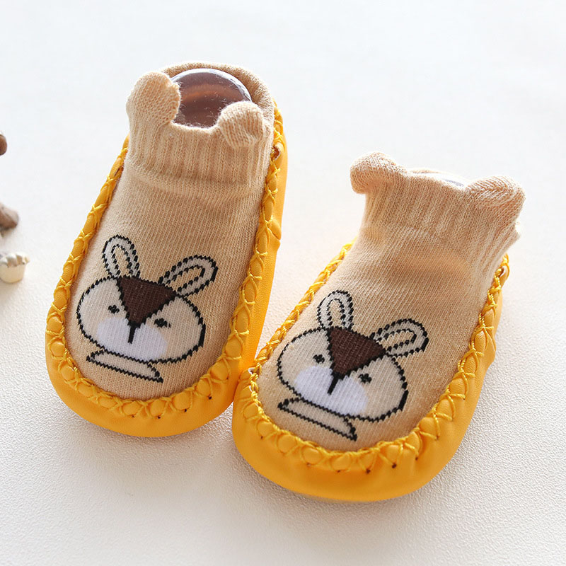 SLKMSWMDJ autumn cotton children 39 s socks baby toddler socks cartoon dispensing non slip floor socks suitable for 0 36 months in Socks from Mother amp Kids