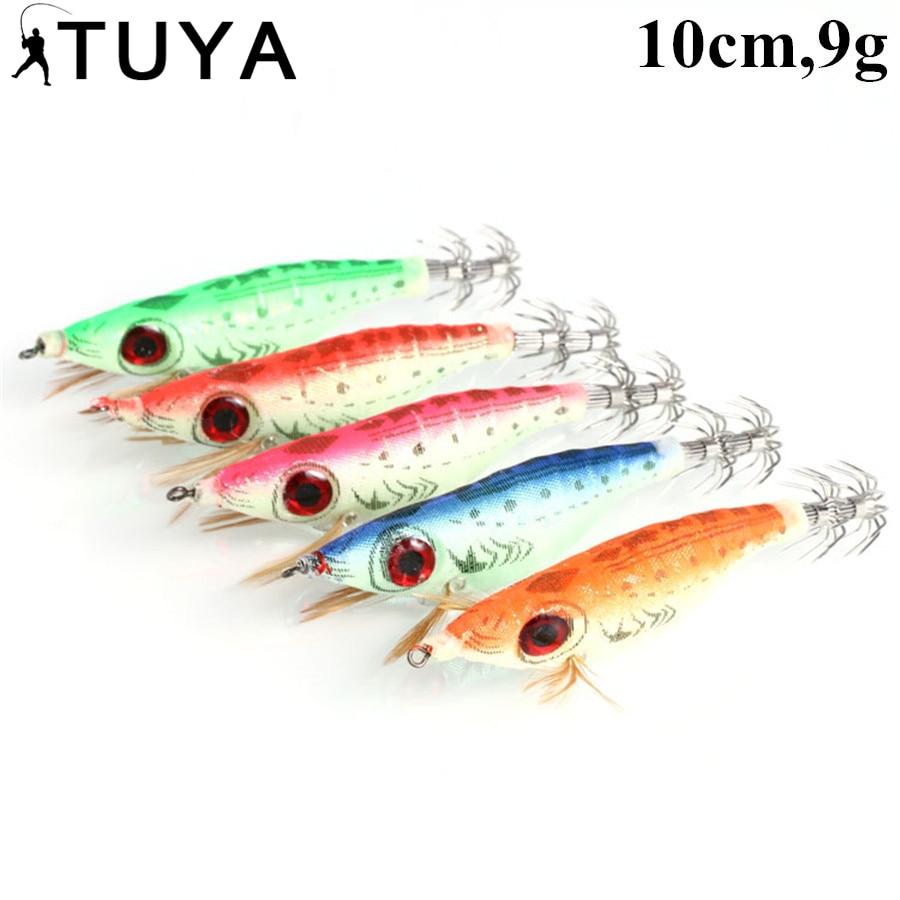 TUYA 5PC/Set Luminous Fishing Lure Shrimp Lure Fishing Bait Tackle - Fishing