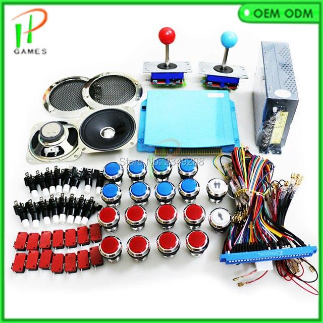 999 in 1 DIY CRT/LCD jamma arcade machine kit game board multigame ...
