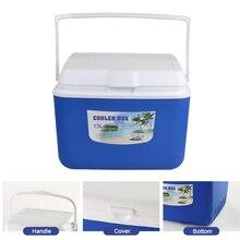 13л Автомобильная изоляционная коробка, уличная Автомобильная охлаждающая коробка, органайзер для льда, коробка для хранения лекарств, домашняя коробка для барбекю, рыбалки