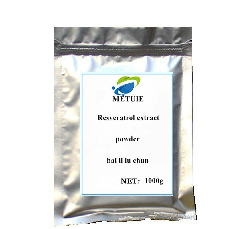 Resveratrol Extract Powder Skin Whitening Festival Face Glitter Suplemento Delaying Senescence Enhancing Immune System Activity..