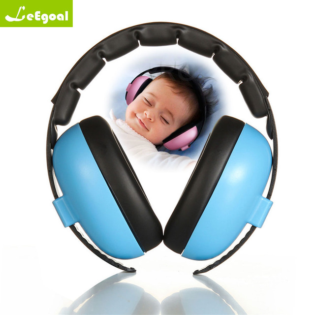 8198aba2ff704 Leegoal motor   shakers bebê Crianças Anti ruído Earmuffs Proteção Auditiva  do fone de Ouvido À