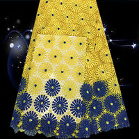 BQG13 New Arrival African Guipure Lace Fabric High Quality Polyester Material For Wedding Dress On Sale