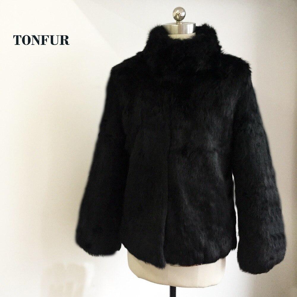 100 Wsr150 Pardessus Réel Nouvelle Manteau Femmes Design Arrivée Col Style De Naturelle Mandarin Fourrure Lapin 2018 6xHqZIW