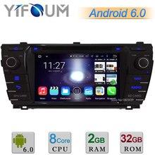 2 ГБ RAM 32 ГБ ROM 7 «android 6 окта основные cortex a53 wifi bt dvd-плеер автомобиля радио gps навигация для toyota corolla 2013 2014 2015