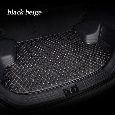 Tapis de voiture revêtement de voiture personnalisé coffre arrière plateau de chargement tapis pour Zotye 2008 Z100 Z200hb Zhima X7 Z560 Z360 T600 Coupe T700 T300