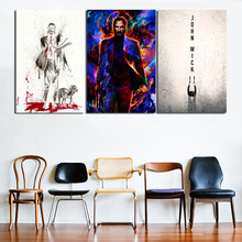 Keanu Reeves John Wick Motivational Wall Art Canvas Minimalist Posters Prints Painting Oil Pictures For Bedroom Home Decor