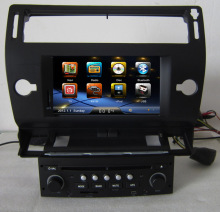 Negro Color 2 Din Radio DVD Auto Gps para Citroen C4 2004 2005 2006 2007 2008 2009 2010 2011 con RDS AM FM USB