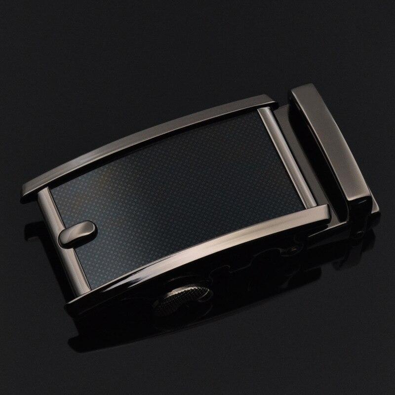 3.5cm Width Men's Belt Buckles Genuine Leather Luxury Strap Male Belts For Men Jeans Belt Buckle Head Metal Business CE25-1215
