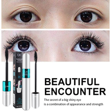Eye Makeup QIC Double Waterproof Long Curl Encryption Lengthened Smudge Thick Elongated Mascara Full Professional Beauty
