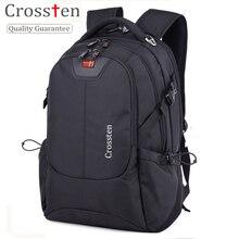 Crossten Swiss Army Multifunctional 16″ Waterproof Versatile Laptop Backpack schoolbag Travel bag Rucksack Notebook Computer bag