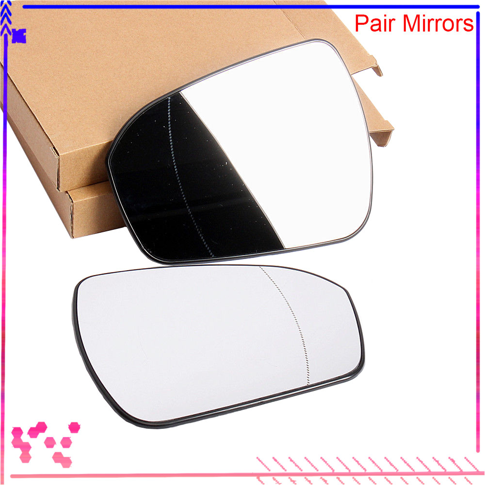 Front Left Right Side Wing Mirror Glass With Heated For Ford Mondeo 2015-2018 Sedan Saloon DS7Z-17K707-F, DS7Z-17K707-B