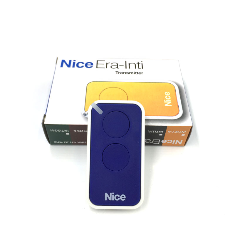 20pcs for NICE era inti 2 button 433 92Mhz Garage Gate Automatic door Remote key fob