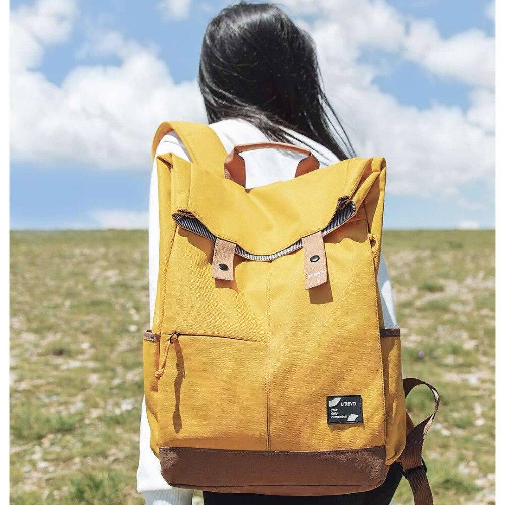 Xiaomi Urevo mochila Ipx4 repelente al agua 13L de gran capacidad mochila de las mujeres de los hombres de moda Casual 14/15 6 pulgadas bolso de la computadora - 3