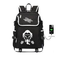 Games Apex Legends backpack USB Charge Backpacks student book bag women men Backpack Teenage shoulder travel bag Laptop bag