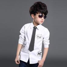 Рубашка для мальчиков 2016 100% 4
