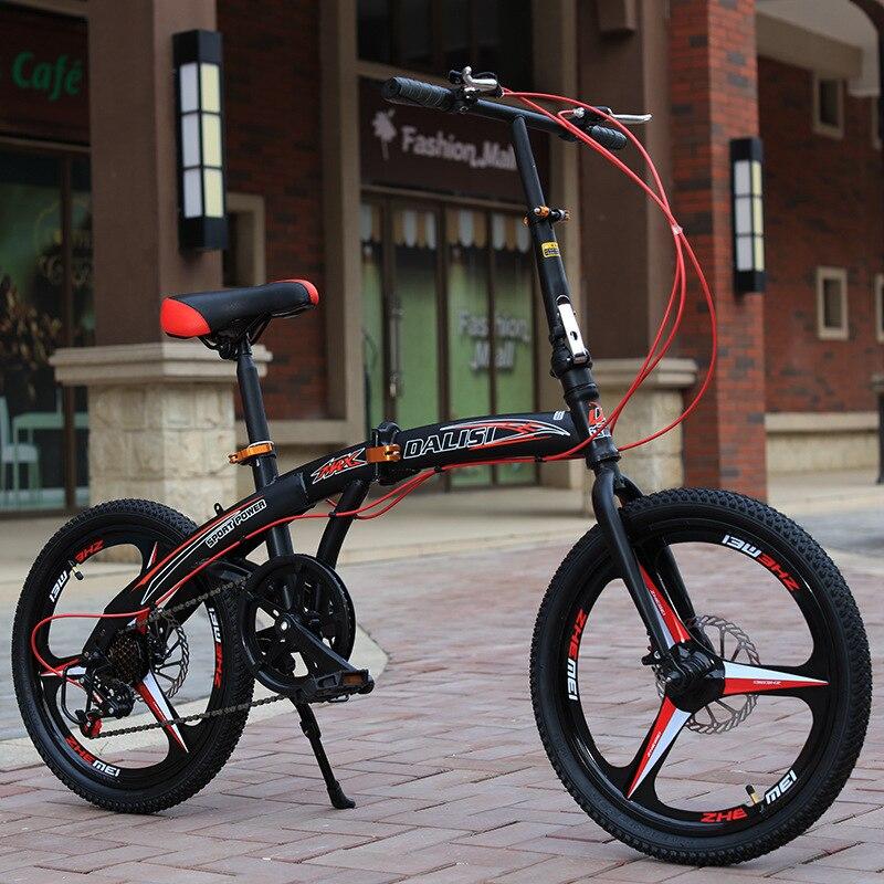 Vélo de sport pliant de 20 pouces pour enfants bicicleta - 2