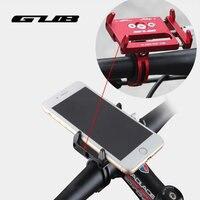 GUB G-85ปรับสากลจักรยานโทรศัพท์ยืน3.5-6.2นิ้วมาร์ทโฟนอลูมิเนียมจักรยานH Andlebarที่ใส่แผ่นโลหะยึ
