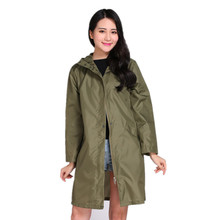 Long Thin Raincoat Women Waterproof hood Light Rain Coat Ponchos Jackets cloak Female Rainwear Chubasqueros Mujer
