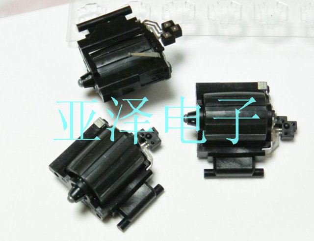 5PCS/LOT Original chip roller encoder EVQVYA001 dial code switch 12 positioning number