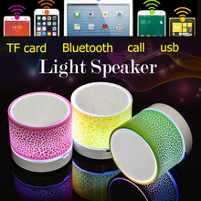 Xiaomi Portable Mini Bluetooth Speakers Wireless Hands Free LED Speaker TF USB FM Sound Music For iPhone X Samsung Mobile Phone(China)